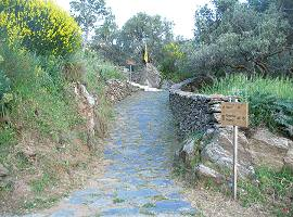 Footpaths in Naxos