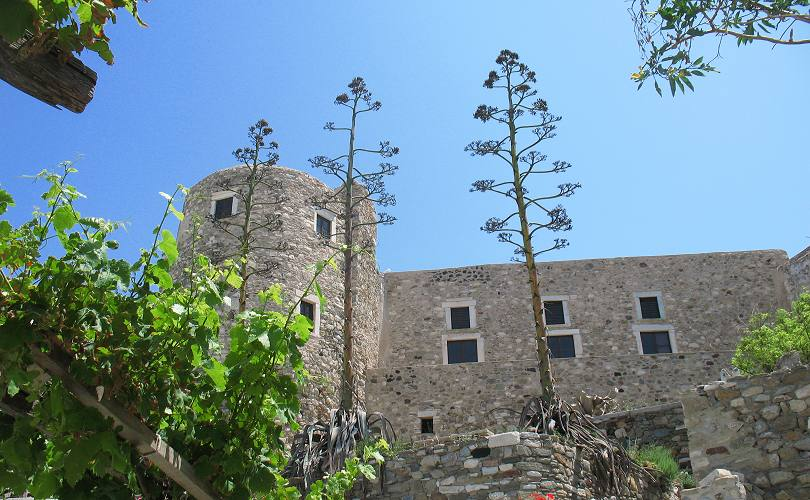 The Venetian Castle in Naxos Town